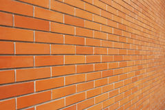 Винтажная кирпичная стена Стоковое Фото