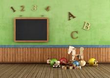 Винтажная комната игры бесплатная иллюстрация