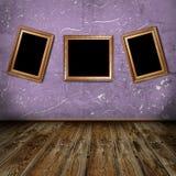 Винтажная комната Стоковые Изображения