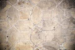Винтажная конкретная текстура пола Стоковое Фото