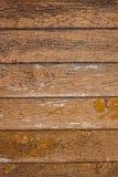 Винтажная коричневая деревянная текстура предпосылки Стоковая Фотография