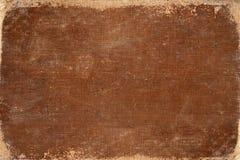 Винтажная коричневая обложка книги Стоковые Фотографии RF