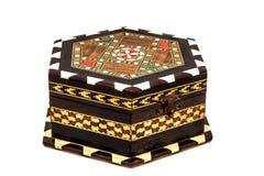Винтажная коробка драгоценности Стоковые Фотографии RF