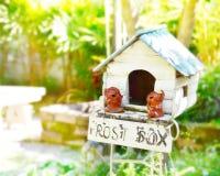 Винтажная коробка столба Стоковое Фото