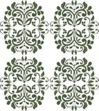 Винтажная королевская классическая предпосылка границы орнамента иллюстрация штока