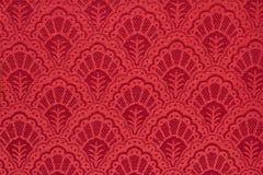 Винтажная красная предпосылка текстуры Стоковые Фотографии RF