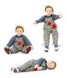 Винтажная кукла мальчика игрушки Стоковая Фотография RF