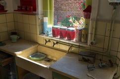 Винтажная кухня Стоковые Изображения