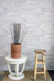 Винтажная классическая комната украшения мебели Стоковая Фотография RF