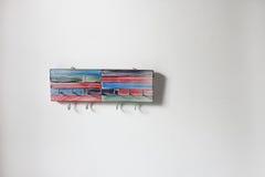 Винтажная ключевая вешалка стоковое изображение
