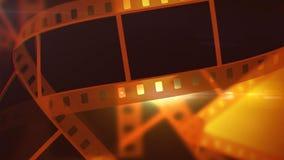 Винтажная лента Rolls фильма Иллюстрация штока