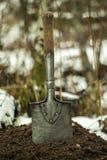Винтажная лопата пехоты Стоковые Изображения RF