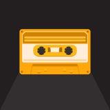 Винтажная магнитофонная кассета Стоковое Изображение