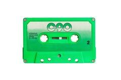 Винтажная магнитофонная кассета Стоковое Фото