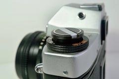 Винтажная малая глубина камеры фильма поля стоковые изображения