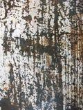 Винтажная металлопластинчатая сталь стоковые фотографии rf