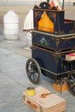 Винтажная механически коробка музыки Стоковая Фотография RF