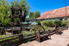 Винтажная мельница штемпеля в Калифорнии стоковое изображение