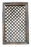 Винтажная оконная рама, китайский стиль Стоковое Фото