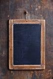 Винтажная доска мелка шифера Стоковая Фотография