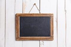 Винтажная доска мелка шифера Стоковое Фото
