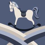 Винтажная лошадь Стоковая Фотография