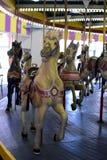 Винтажная лошадь carousel Стоковое Фото