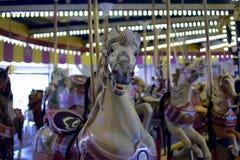 Винтажная лошадь carousel Стоковая Фотография