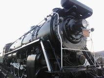 Винтажная паровозная машина Стоковая Фотография
