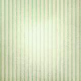 Винтажная пастельная зеленая и бежевая striped предпосылка Стоковая Фотография RF