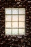 Винтажная поверхность каменной стены с цементом Стена крупного плана старая каменная Стоковое Изображение RF