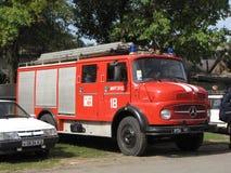 Винтажная пожарная машина стоковое фото