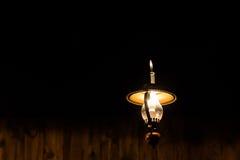 Винтажная потолочная лампа Стоковые Изображения RF