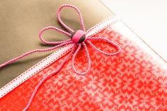 Винтажная подарочная коробка Стоковые Фото
