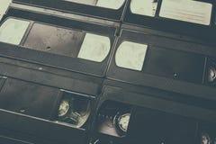 Винтажная предпосылка видео- кассеты Стоковая Фотография RF
