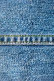 Винтажная предпосылка джинсовой ткани Стоковое Фото