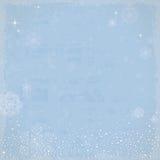 Винтажная предпосылка зимы Стоковое Изображение RF