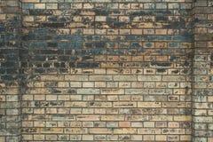 Винтажная предпосылка каменной стены кирпича, старая кирпичная кладка Стоковые Изображения RF