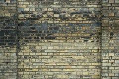 Винтажная предпосылка каменной стены кирпича, старая кирпичная кладка Стоковое Изображение