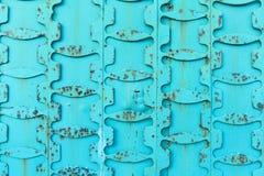 Винтажная предпосылка металла бирюзы стоковая фотография rf