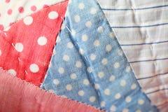 Винтажная предпосылка лоскутного одеяла Стоковое фото RF