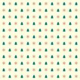 Винтажная предпосылка рождества Стоковое Фото