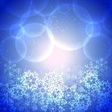 Винтажная предпосылка рождества Стоковое Изображение RF