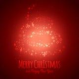 Винтажная предпосылка рождества Стоковая Фотография RF
