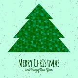 Винтажная предпосылка рождества Стоковые Фотографии RF