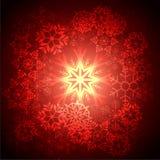 Винтажная предпосылка рождества Стоковое фото RF