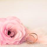 Винтажная предпосылка свадьбы Sile Стоковые Фотографии RF
