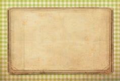 Винтажная предпосылка, стиль точки польки стоковая фотография