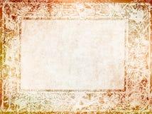 Винтажная предпосылка с рамкой Nouveau иллюстрация вектора