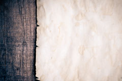 Винтажная предпосылка с старой бумагой Стоковое фото RF